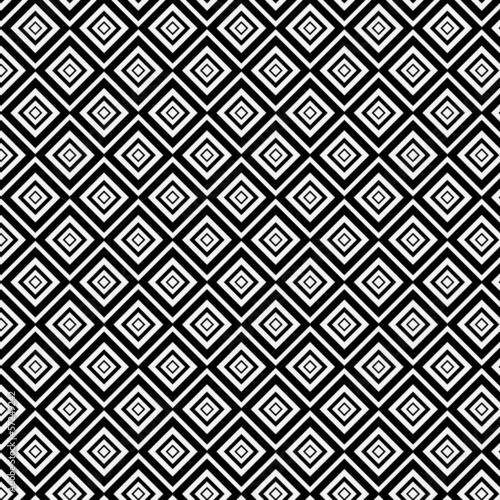 fototapete popart muster schwarz weiss rauten inneinander fototapeten aufkleber poster. Black Bedroom Furniture Sets. Home Design Ideas