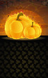 Dark dungeon and burning pumpkins