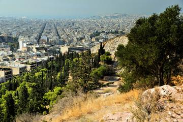 Philopapou Hill, Pnika, Acropolis Area, Athens, Pireas, Greece