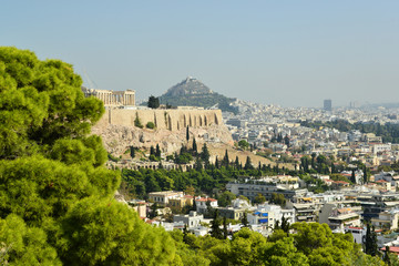 f Acropolis, Athens Greece and the New Acropolis museum