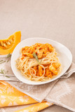pasta with pumpkin