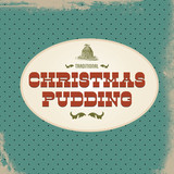 Retro Christmas Pudding Sign