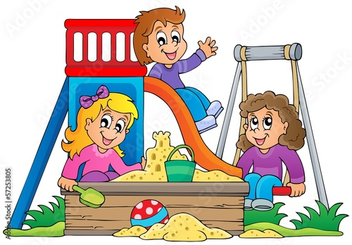 Image with playground theme 1