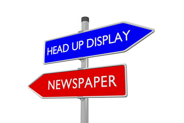 Head up Display _ Newspaper