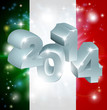 2014 Italian flag