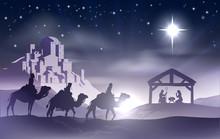 Nativity Scene Boże Narodzenie