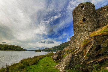 Kilchurn Castle Side View