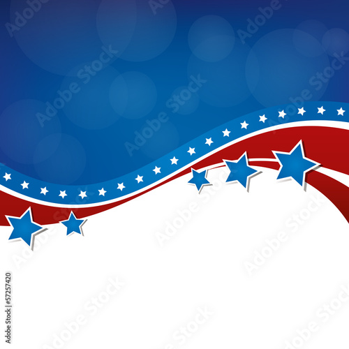 American Background Design
