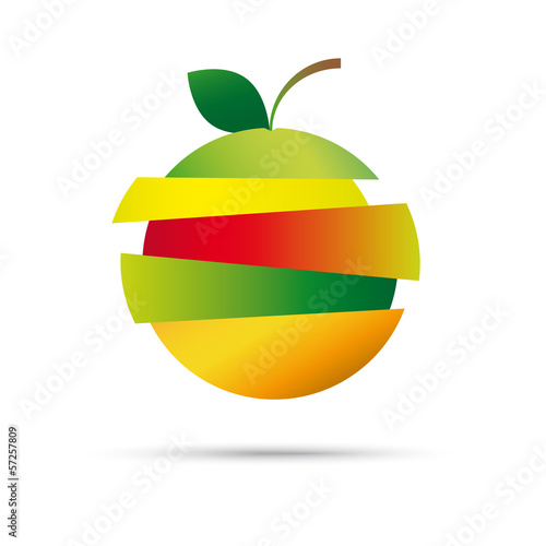 Fresh Fruit Vector Company Logo