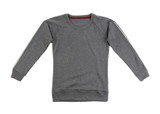 Gray t-shirt with long sleeves