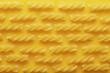 Raw fusilli pasta texture
