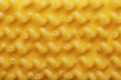 Raw cavatappi pasta texture