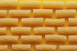 Raw elicoidale pasta texture