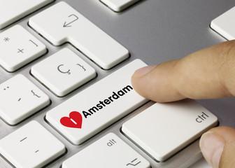 I love Amsterdam keyboard