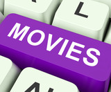 Movies Key Means Films Or Movie.
