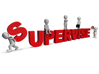 Supervise Characters Shows Management Supervising And Supervisor
