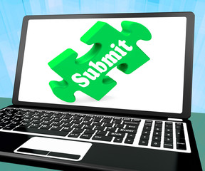 Submit Laptop Shows Online Submitting Submissions Or Application