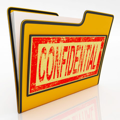 Confidential File Shows Secret Document