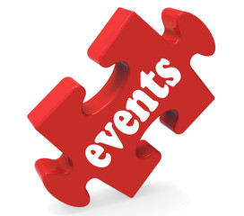 Events Puzzle Means Concerts Occasions Events Or Functions