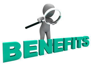 Benefits Character Means Perks Favors Or Rewards.