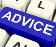 Advice Key Means Recommend Or Suggest.