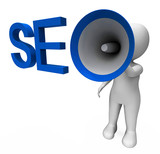 Seo Hailer Shows Search Engine Optimization Optimized On Web