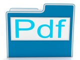 Pdf File Shows Document Format Or Files