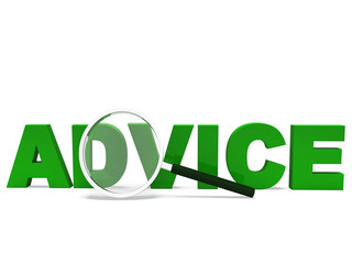 Advice Word Means Advising Advise Recommend Or Advised