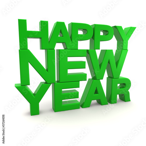 3D - Happy New Year (III)
