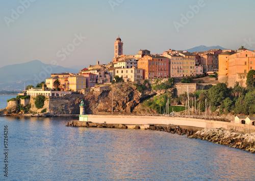Leinwandbild Motiv Bastia vue de la mer