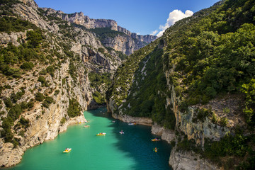 Grand Canyon du Verdon und Kajak