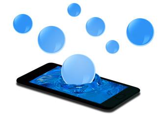 Smartphone e bolle
