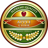 Apple Cider Vintage Label