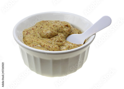 Horseradish Mustard Bowl Spoon