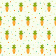Pattern with carrots