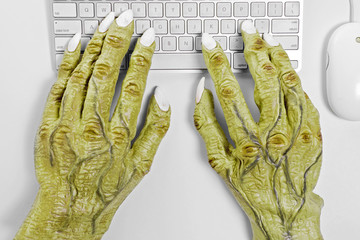 Monster Keyboard Hands