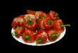Stuffed paprika with meat