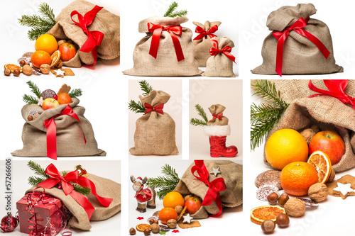Weihnachts-Säcke Kollektion