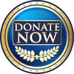 Donate Now Blue Label
