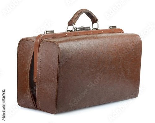 Vintage luggage bag