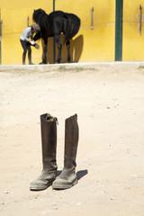 Botas de montar