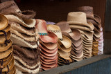 Western Hats on Display