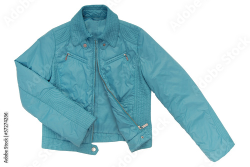 turquoise color jacket