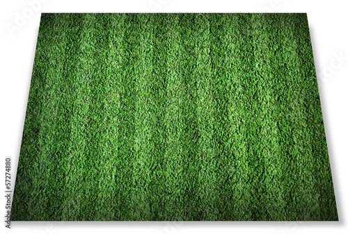 Football lined field