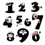 funny numbers collection smile