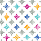 Fototapety Vector colorful marble textured tiles seamless pattern