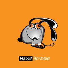 Happy Birthday smile bunny