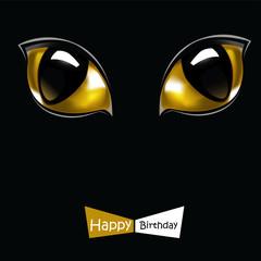 Happy Birthday Smile cat
