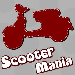 MOTOCICLETTA SCOOTER MANIA
