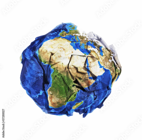 Polluting earth